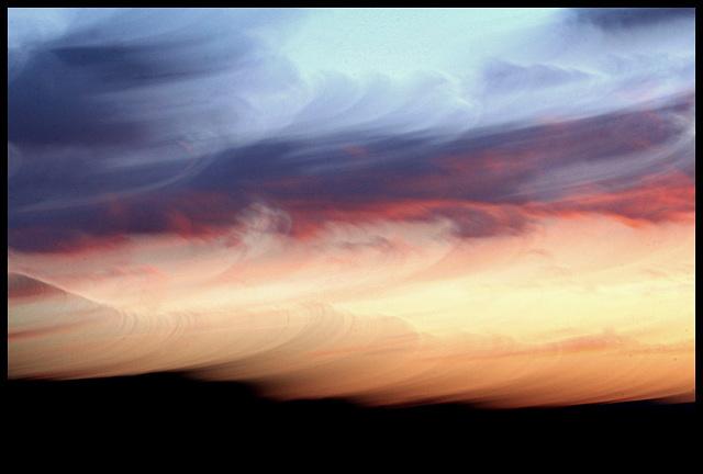 coup de vent au crépuscule