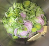 So where do you start with home-made vegetable soup?