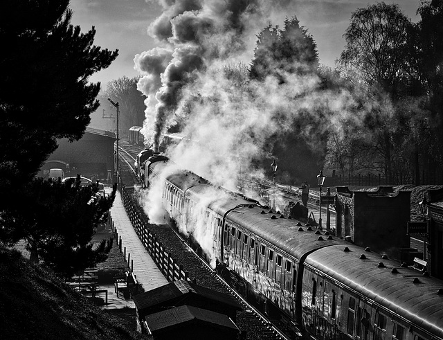 Great Central Railway Rothley Leicestershire 16th November 2019