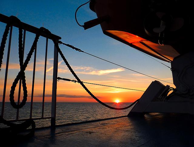 a baltic sunset