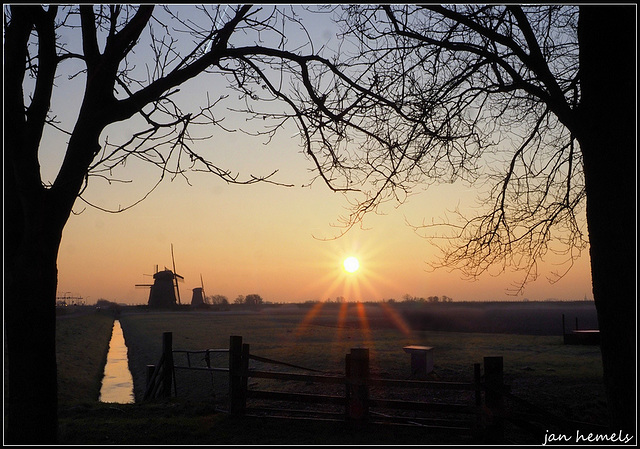 Sunrise at Stompetoren