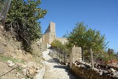 Albania, Vlorë, The Path to the Entrance to the Castle of Kaninë