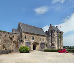 Saint-Sauveur-le-Vicomte - Château