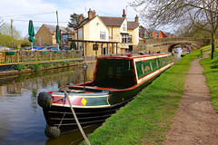Shropshire Union Canal at Gnosall