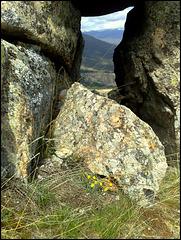 Small rock window