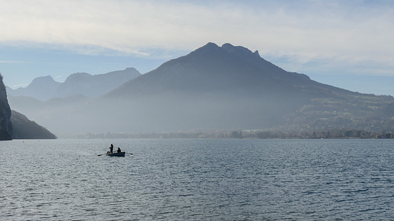 Annecy : l'heure diaphane