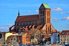 Wismar, die Nikolaikirche