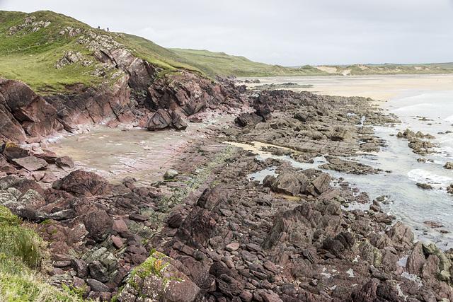 Gravel Bay - Moor Cliffs Formation