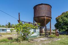 "sugar mill ""Frank País"" - rusty water"