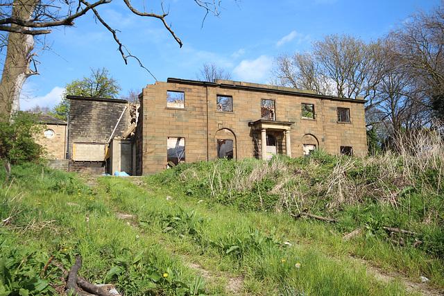 Dewsbury Moor House, Dewsbury, West Yorkshire (now a ruin)