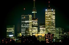 Toronto by night - 1986