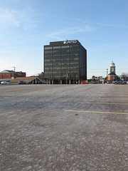 The tallest skyscraper in Parkersburg was erected in 1974.
