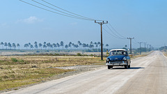 Opel on the road