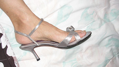 wife in BP heels