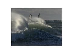Les vagues et le vent.