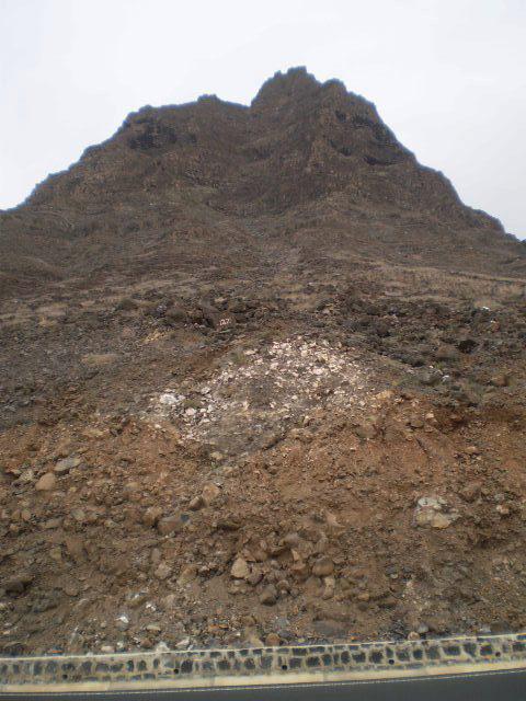 Mount Verde (774 metres of altitude).