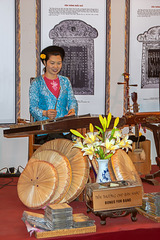 Playing the Dàn tranh zither