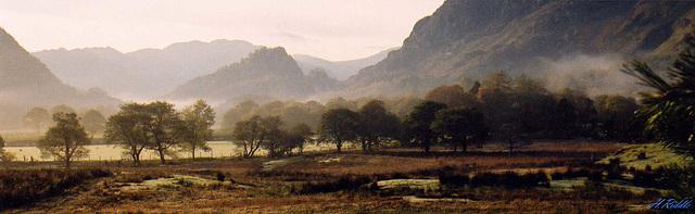 Towards Castle Cragg