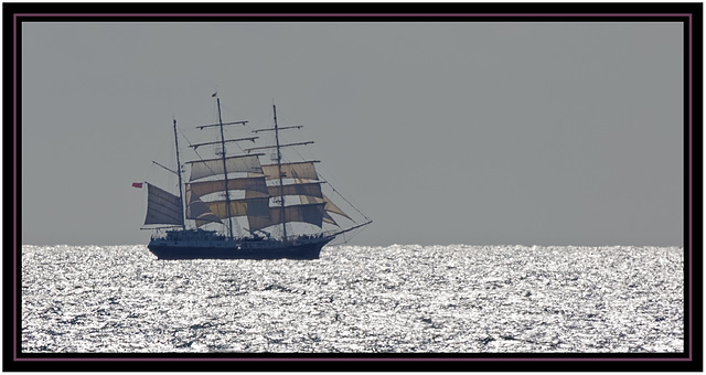A Sailing Ship under Sail