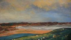 Paysage d'Ecosse Torrisbale Bay