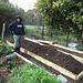 reconstruction of vegie bed #1