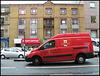 Royal Mail post office van