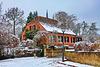 Werder (Havel), ein Haus im Winter ... HFF!