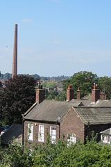 mill chimney, carlisle