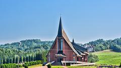 New Church of All Saints in Blizne, Poland