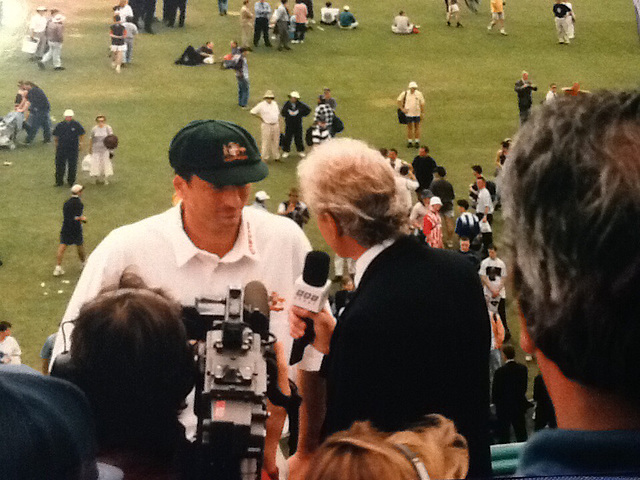david-gower-interviewing-steve-waugh