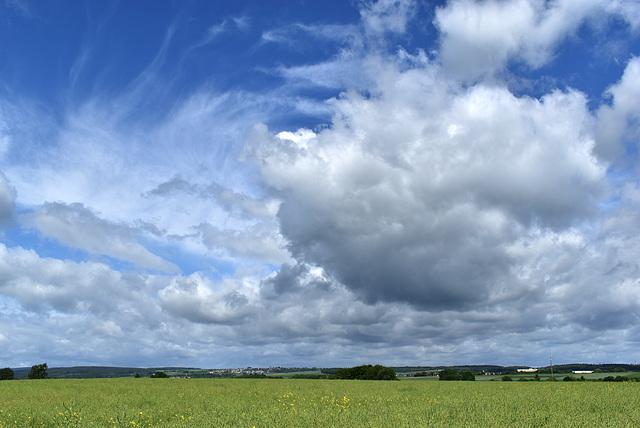 Wolken überm Gäu