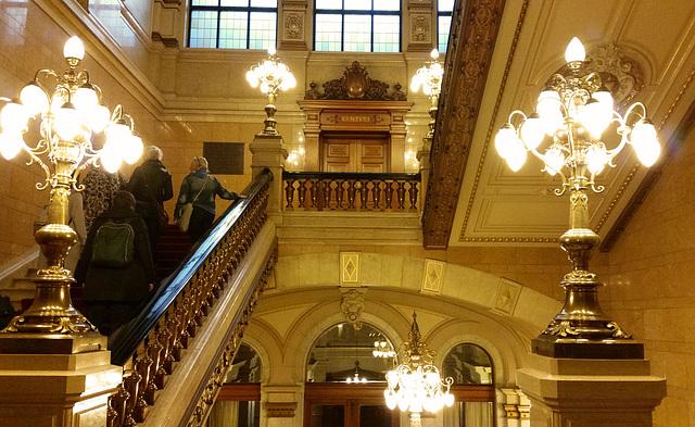 HFF aus dem  Hamburger Rathaus