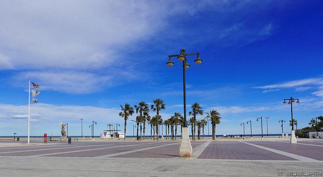 Valencia - beim Platja del Cabanyal  (© Buelipix)