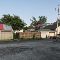 Somebody's good yard wall.