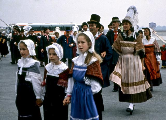 Trachtenumzug in Pontivy 1994