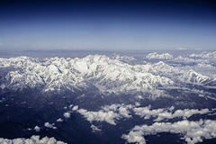 Himalayas from above