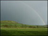 rainbow at Abbotsbury