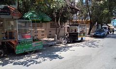 Bouffe et café de rue (Cambodge)
