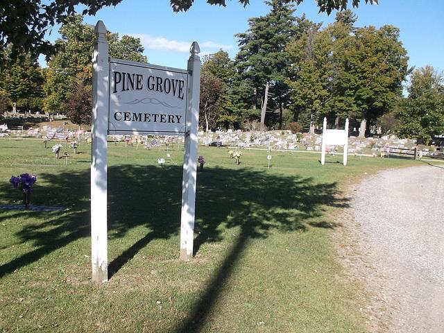Pine Grove funeral garden