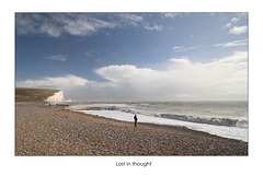 Lost in thought - Cuckmere Haven - 28.3.2016