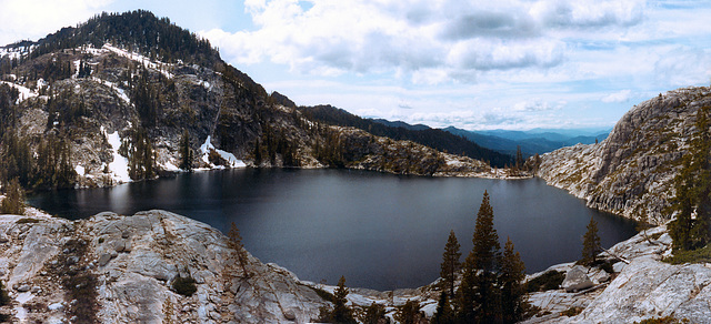 Caribou Lake Trinity Alps