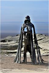 Sculpture of King Arthur