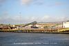 Aggregates conveyor East Quay Newhaven 2 11 2020