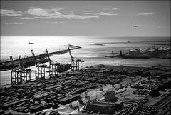 Puerto de Barcelona.