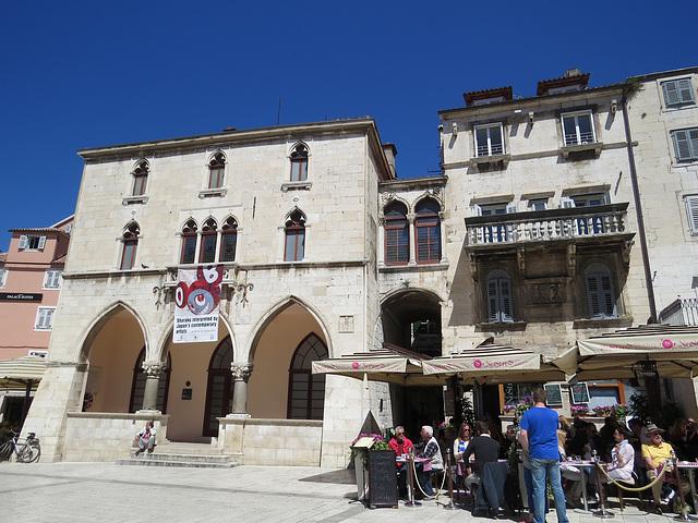 Split : Narodni Trg.