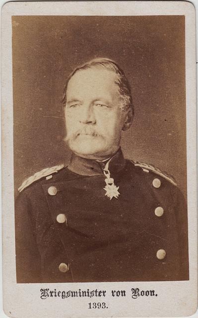 Albrecht Graf von Roon (1803-1879)