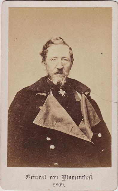 Leonhard Graf von Blumenthal (1810-1900)