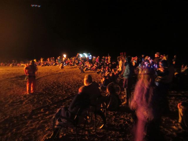 Burning Earthstar at BEquinox (3160)