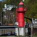 Leuchtturm am Museumshafen Övelgönne