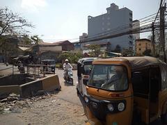 Carrefour Tuk-Tuk ( Cambodge)